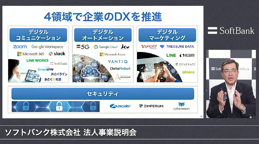 データ活用で日本をDX先進国へ ー ソフトバンク法人事業説明会レポート