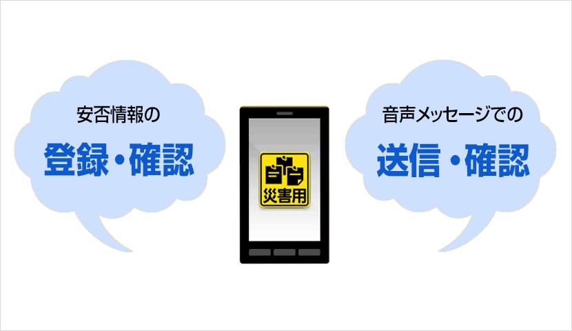 今こそ確認しておきたい、災害時に役立つ「災害用伝言板」「災害用音声お届けサービス」の使い方