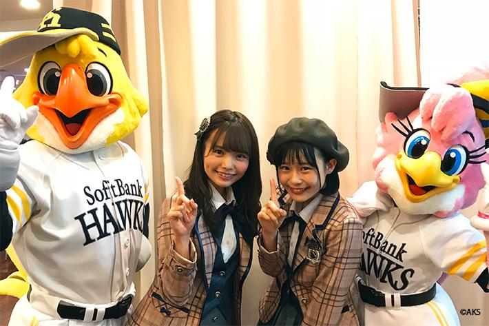 日本一、もう1頂! ソフトバンクホークス開幕3連戦はVRでも楽しめる! ~HKT48が1年間レポートします!~
