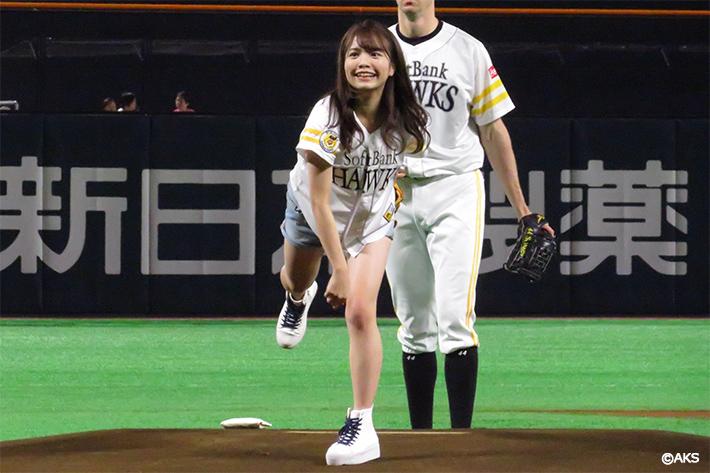 「どんたく博多デー」にHKT48渕上舞さんが登場
