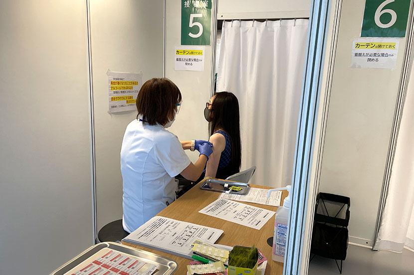ソフトバンクで新型コロナウイルスワクチンの職域接種がスタート