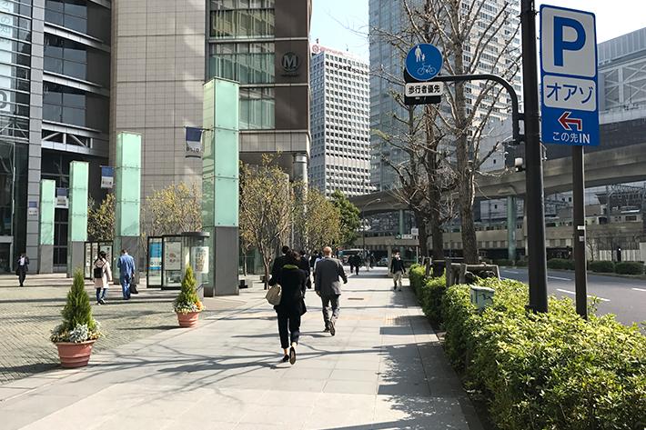 東京駅から徒歩2~3分
