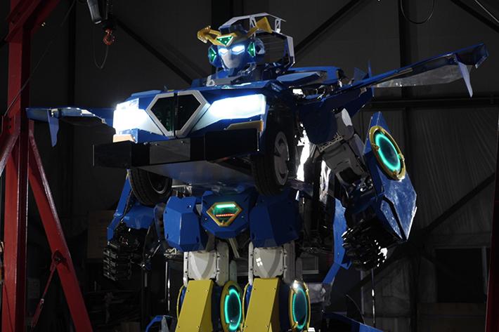乗用人型変形ロボット ジェイダイト・ライド