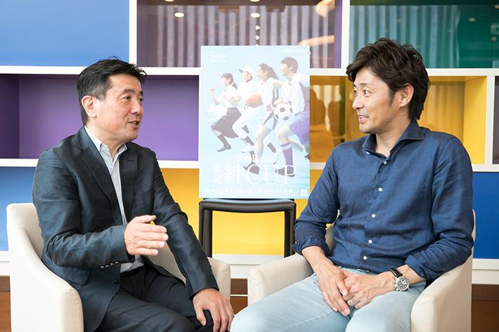 スポーツ・文化活動を被災地の子どもたちへ。「SoftBank 東北絆CUP」にかける思い