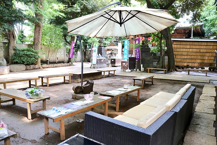 戸越八幡神社 ソファースポット