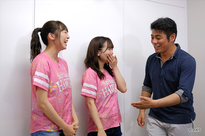 HKT48に無茶振りミッション、スタジアムDJに挑戦します!
