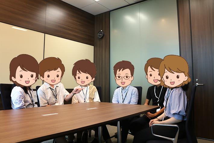 インターン生の覆面座談会