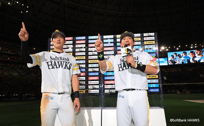 上林選手が3戦連発、松田選手も2HR含む猛打賞で交流戦6連勝!