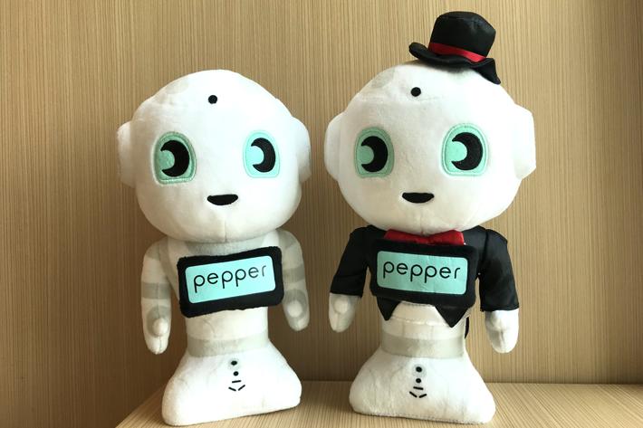 Pepperぬいぐるみ / Pepperぬいぐるみ タキシードver.