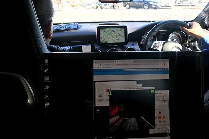 Trial Shows How Telecommunications are Key to Creating Maps for Automated Driving in Japan