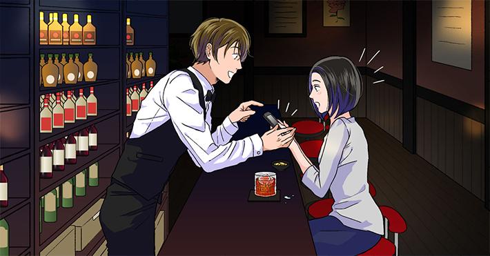 第3話 オトナ女子とイケメンバーテンダーの場合 ~オトナの余裕を見せたいのに…?~