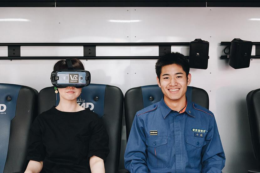 災害の怖さをバーチャル体験できる「VR防災体験車」レポート! 消防士のエースに聞く、災害時の4つの備えとは