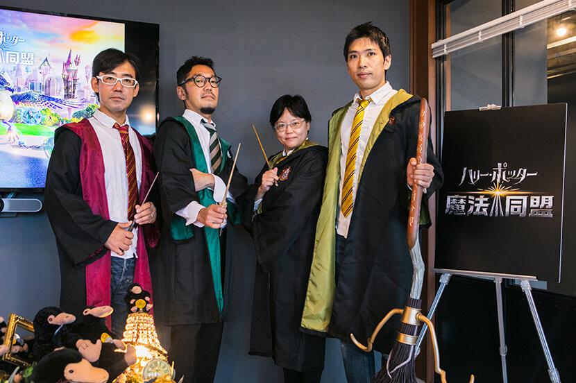 オリジナル声優は日本だけ? 『ハリー・ポッター:魔法同盟』の裏話や隠れテクニックを担当者に聞いてみた
