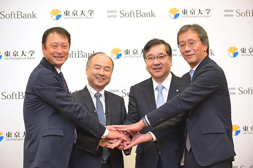 世界最高レベルの人と知が集まる「Beyond AI 研究所」開設へ。ソフトバンクと東京大学が共同記者会見