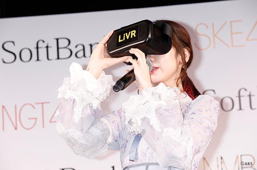 ほぼ毎日、超神席で、劇場公演が楽しめる! AKB48グループの劇場公演を「LiVR」でVRライブ配信