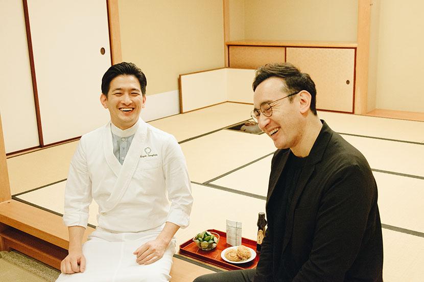 日本料理家と若きベンチャー企業の経営者が描く、日本食の未来