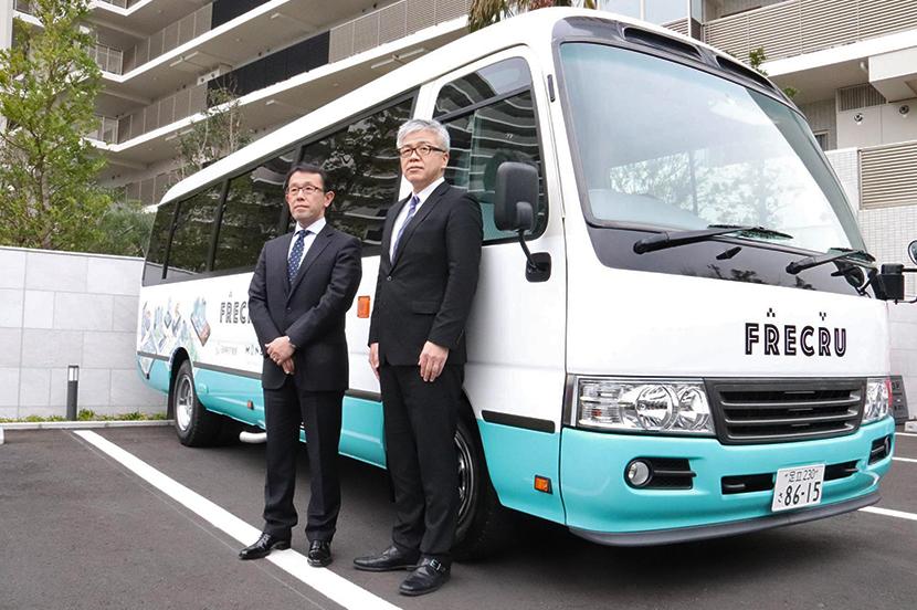 乗りたい時にアプリで予約。マンション専用オンデマンドバスが試験運行を開始