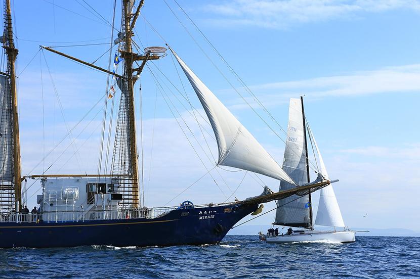 ヨットを通じて海を越えた絆。日本-パラオ親善ヨットレースで衛星電話が活躍