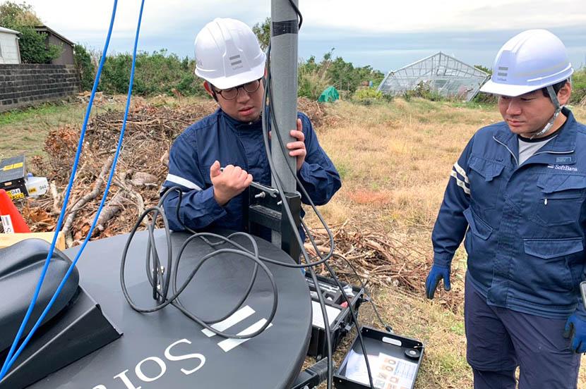 通信ネットワーク復旧へ奮闘。台風19号襲来の裏側で、何が起こっていたのか。