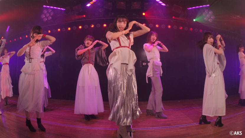 AKB48劇場「超神席」からの視点