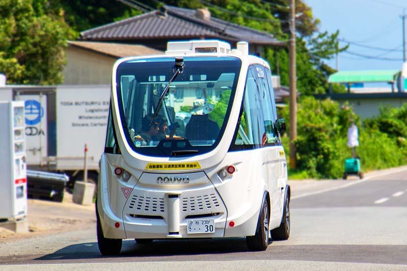 MaaS発展のカギとなる「自動運転」とは? —利便性を一気に高めてくれる