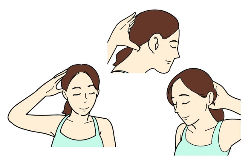スマホ首・ストレートネックに効果的なツボの押し方 | あなたは「スマホ首・ストレートネック」になってない? 専門家が教える正しい姿勢&解消ストレッチ方法