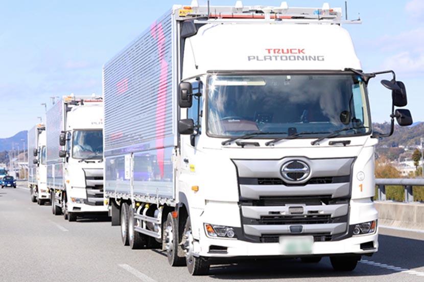 快挙! 5Gを活用したトラックの隊列走行実験に関する論文が、学会の ...