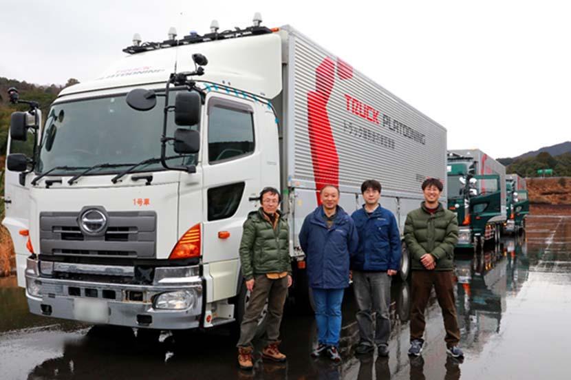 快挙! 5Gを活用したトラックの隊列走行実験に関する論文が、学会の論文賞と最優秀論文賞を同時受賞