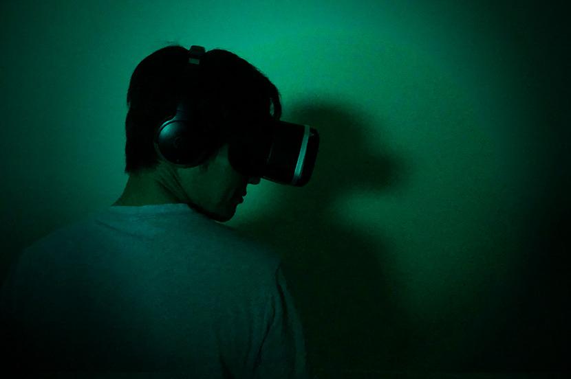 あなたは…この…恐怖に…耐えられる…だろうか? 今年は…VRで…肝試し…を…
