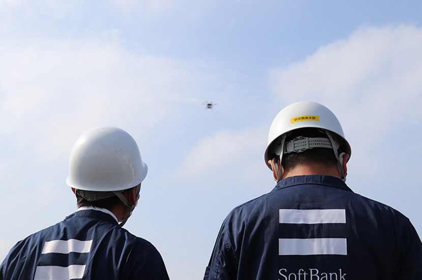 """SoftBank Demonstrates """"Drone Wireless Relay System"""" for Disaster Recovery and Locating Persons Trapped Under Debris"""