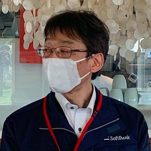 ソフトバンク 衛星事業推進部 担当部長 押田さん