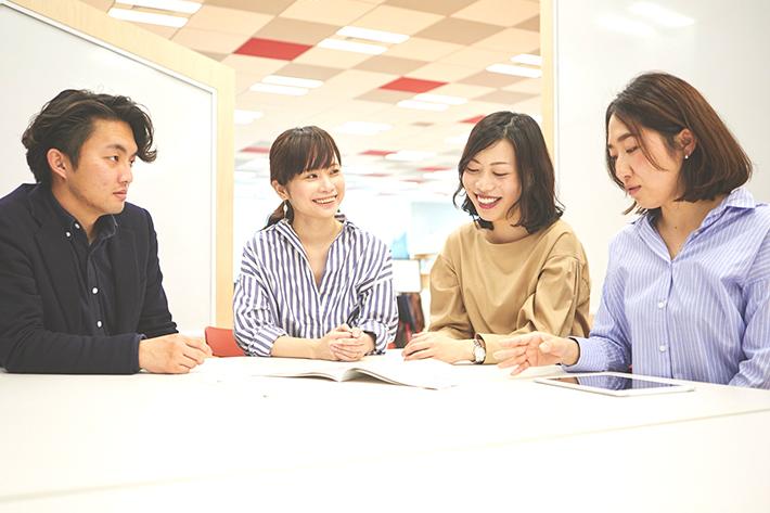 左から鈴木さん、工藤さん、ソフトバンク 横溝、ソフトバンク 木村