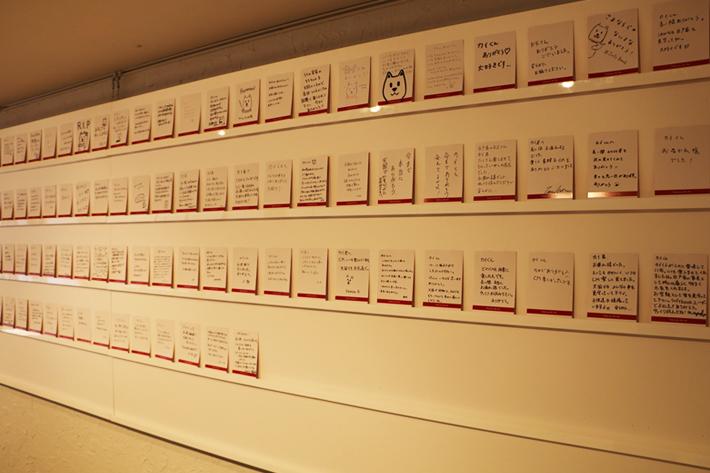 カイくんへのメッセージカードは、湘南動物プロダクションに送られます。