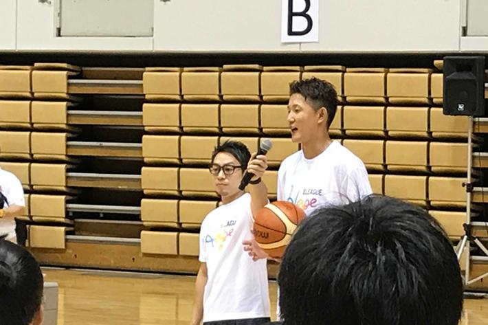 地元盛岡出身の元男子日本代表、横浜ビー・コルセアーズ 川村選手