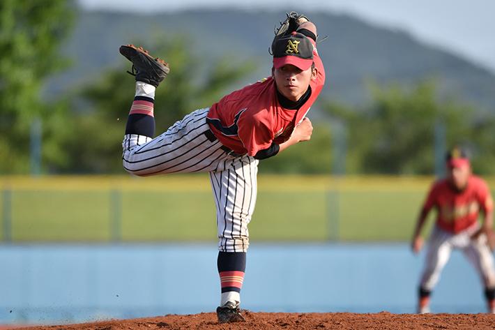 中村第二中学校と中田中学校の試合は息の詰まるような投手戦に