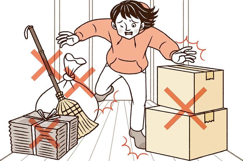 自宅にいるときに地震が発生。災害時の対策と事前の備え ー防災行動ガイド