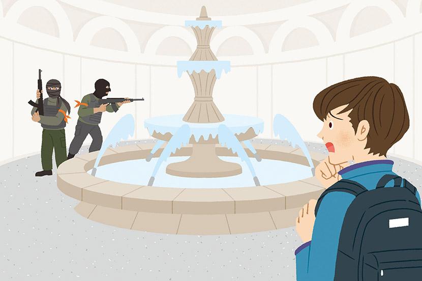 海外旅行中にテロ勃発で街はパニック状態に…。災害時の対策と事前の備え ー防災行動ガイド