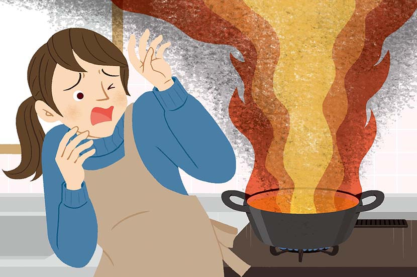 自宅でコンロ火災が発生…。災害時の対策と事前の備え ー防災行動ガイド