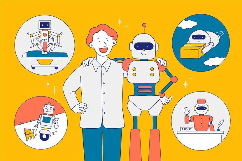 ⑤ ロボットが相棒になる未来