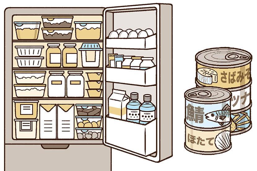 いつか起こる大災害に向けて。家庭用食糧備蓄のコツ -防災行動ガイド