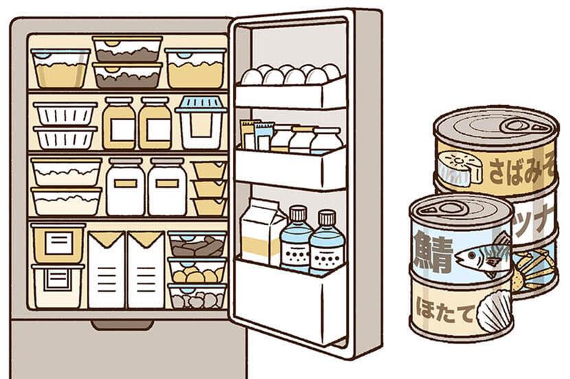事前の備え:備蓄など「地震への備え」は多くの災害対策に有用。シミュレーションの習慣化も