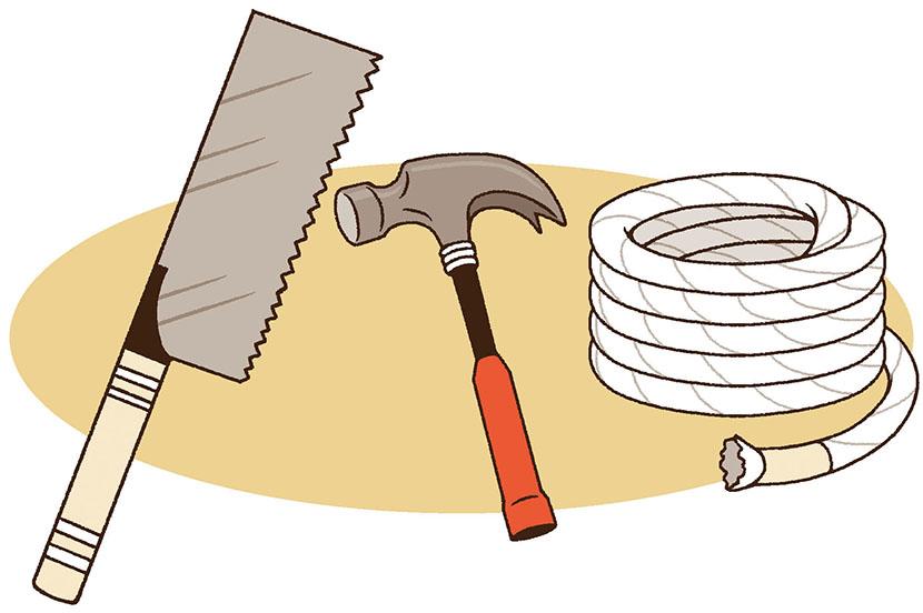 地震でガレキや家具の下敷きに…。災害時の対策と事前の備え -防災行動ガイド