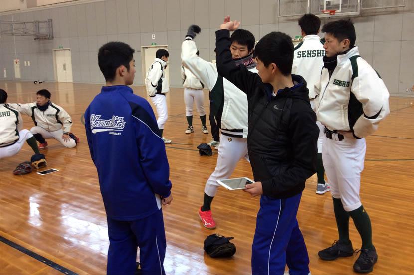 ICT活用で学生がコーチとなって部活動を遠隔サポート-地方創生の取り組み(宮城県石巻市)