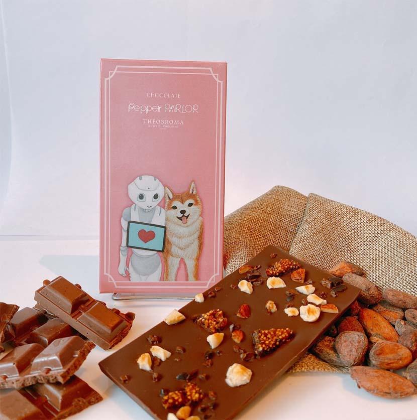 絶対定番なのが、チョコレート