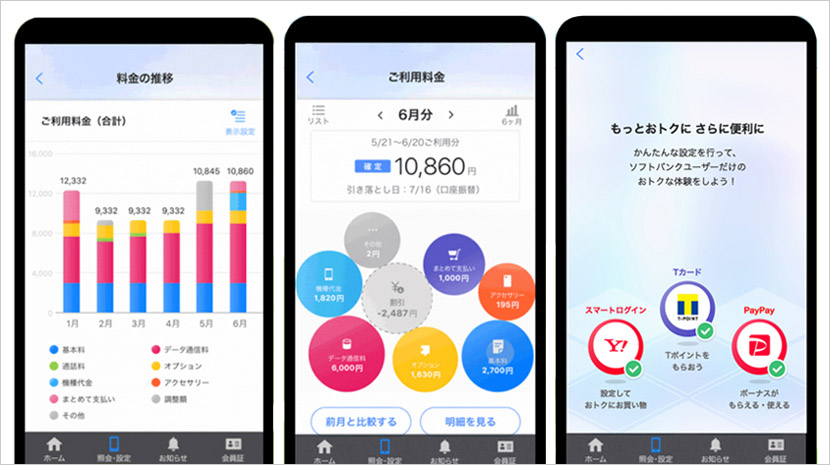 My SoftBankアプリ