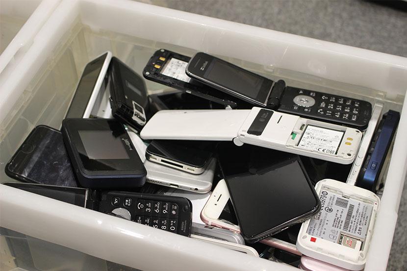 スマホ・携帯電話の持ち込み