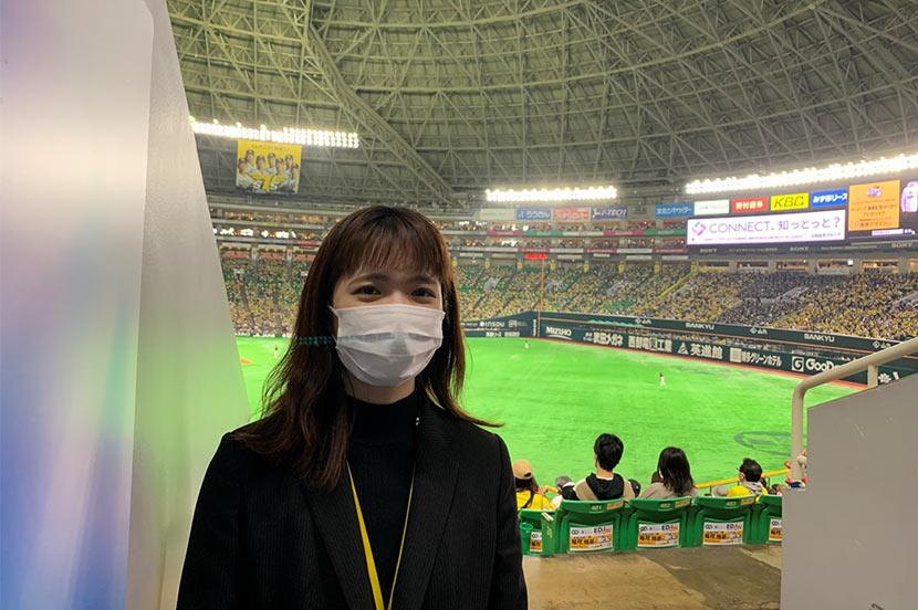 福岡ソフトバンクホークス広報室の西岡さん