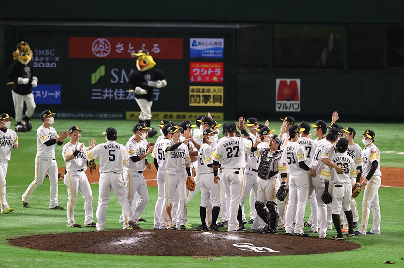 本拠地で勝ち取った圧巻の日本一!
