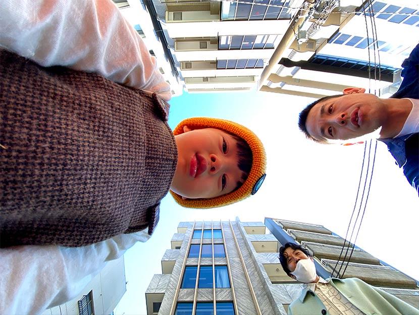 今回、スマホ撮影で鈴木心さんが撮影した写真