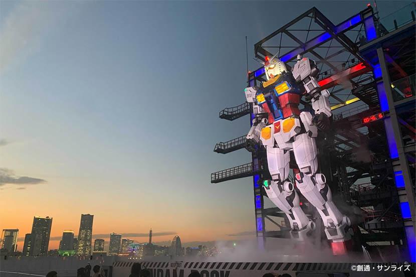 40年の時を経て、大人たちの夢が現実に。全高18mの「動くガンダム」が動き出す瞬間 at GUNDAM FACTORY YOKOHAMA